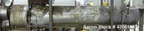 """Used- ITT Bell & Gossett """"U"""" Tube Heat Exchanger, 268 square feet, model SU167-2, part #5-261-16-084-016, vertical. Carbon s..."""