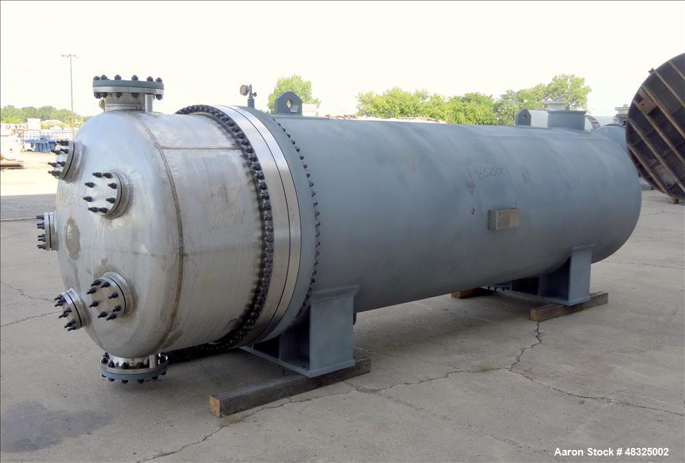 Unused- Joseph Oats Shell & Tube U-Tube Heat Exchanger, Approximately 10,297 Squ