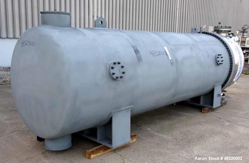 Unused- Joseph Oats Shell & Tube U-Tube Heat Exchanger, Approximately 10,297 Squ