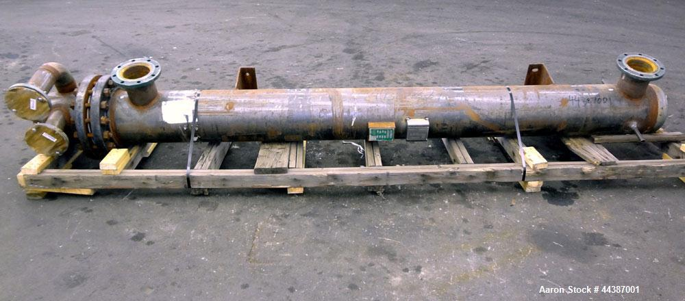 Unused- KAM Thermal U-Tube Heat Exchanger, 214 Square Feet, Horizontal. Carbon steel shell rated 300 psi at -20 to 750 degre...