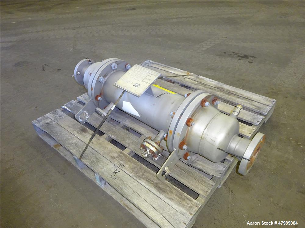 Used- Kennedy Tank and Mfg. Shell & Tube Straight Heat Exchanger, Approximate 26