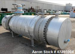 "d- G+R Gerhard+Rauh GMBH ""U"" Tube Heat Exchanger, Approximate 547 Square Feet, Horizontal. 316L Stai..."