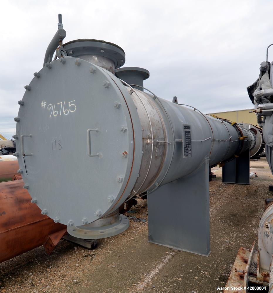 Unused- Horizontal Melter S.A. de C.V. 2 Pass Shell & Tube Heat Exchanger, 3746 Square Feet, Type NEN