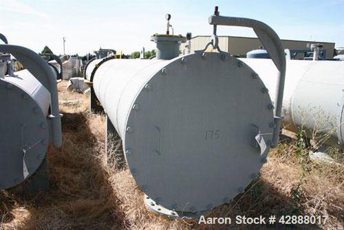Unused- Horizontal Melter S.A. de C.V. Single Pass Shell & Tube Heat Exchanger, 2639 Square Feet, Type NEN