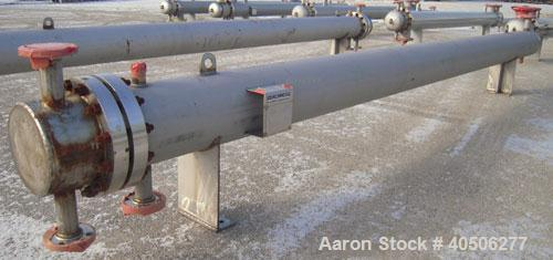 Unused- Mueller 4 Pass U Tube Shell and Tube Heat Exchanger, 175 square feet, horizontal. Tema Type BEU, Tema Size 10-192, T...