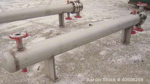 Unused- Mueller U Tube Shell snd Tube Heat Exchanger, 56 square feet, horizontal. Tema Type BEU, Tema Size 8-96, Tema Class ...