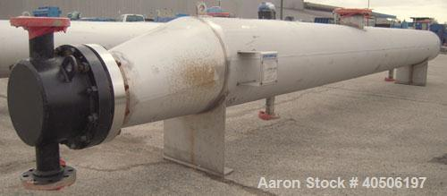 Unused- Mueller U Tube Shell and Tube Heat Exchanger/ Reboiler, 208 square feet,  horizontal. STI Tema Type BKU, Tema Size 1...
