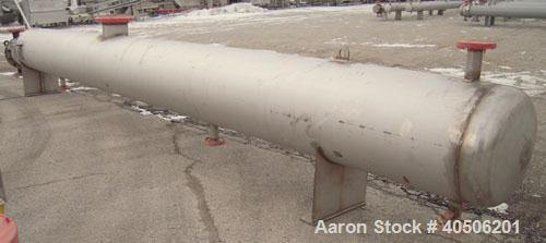 Unused- Mueller U Tube Shell and Tube Heat Exchanger/ Reboiler, 208 square feet,horizontal. STI Tema Type BKU, Tema Size 12/...