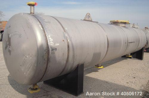 Unused- Mueller U Tube Shell and Tube Heat Exchanger/ Reboiler, 1270 squarefeet, horizontal. STI Tema Type BKU, Tema Size 24...