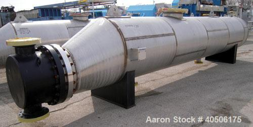 Unused- Mueller U Tube Shell and Tube Heat Exchanger/ Reboiler, 1270 square  feet, horizontal. STI Tema Type BKU, Tema Size ...