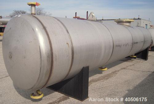 Unused- Mueller U Tube Shell and Tube Heat Exchanger/ Reboiler, 1270 square  feet, horizontal. STI Tema Type BKU, Tema Size ...