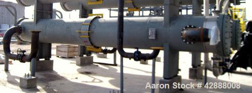 Unused- Melter S.A. de C.V. 8 Pass Shell & Tube Heat Exchanger, 2204 Square Feet, Type NEN