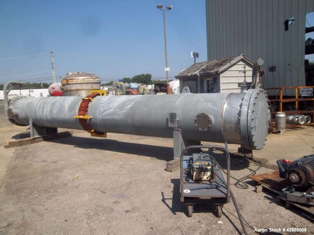 Unused- Horizontal Melter S.A. de C.V. 8 Pass Shell & Tube Heat Exchanger, 2204 Square Feet, Type NEN