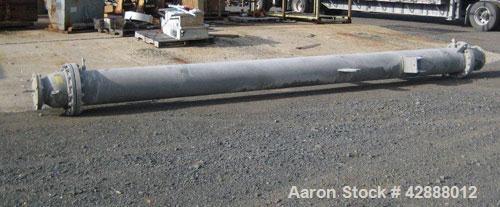 Unused- Melter S.A. de C.V. Single Pass Shell & Tube Heat Exchanger, 419 Square Feet, Type BEM, Vertical. Carbon steel shell...