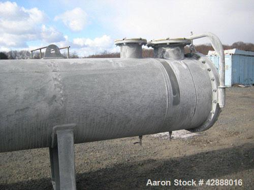 Unused- Horizontal Melter S.A. de C.V. Single Pass Shell & Tube Heat Exchanger, 1571 Square Feet, Type NEN