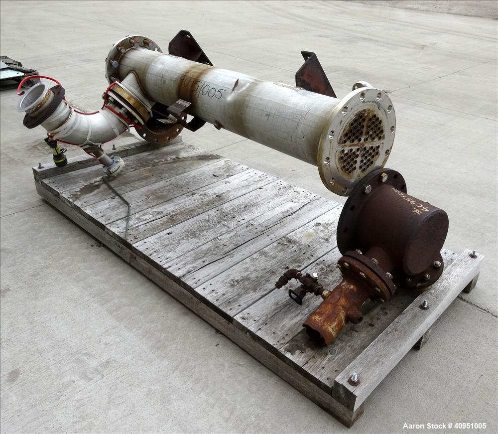 Used- 4 Pass Shell and Tube Heat Exchanger