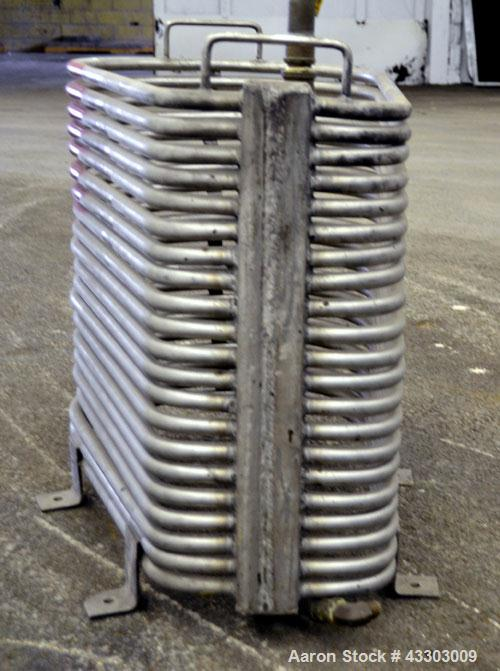 Used- Stainless Steel Custom Made Coil Water Immersion Tubular Heater