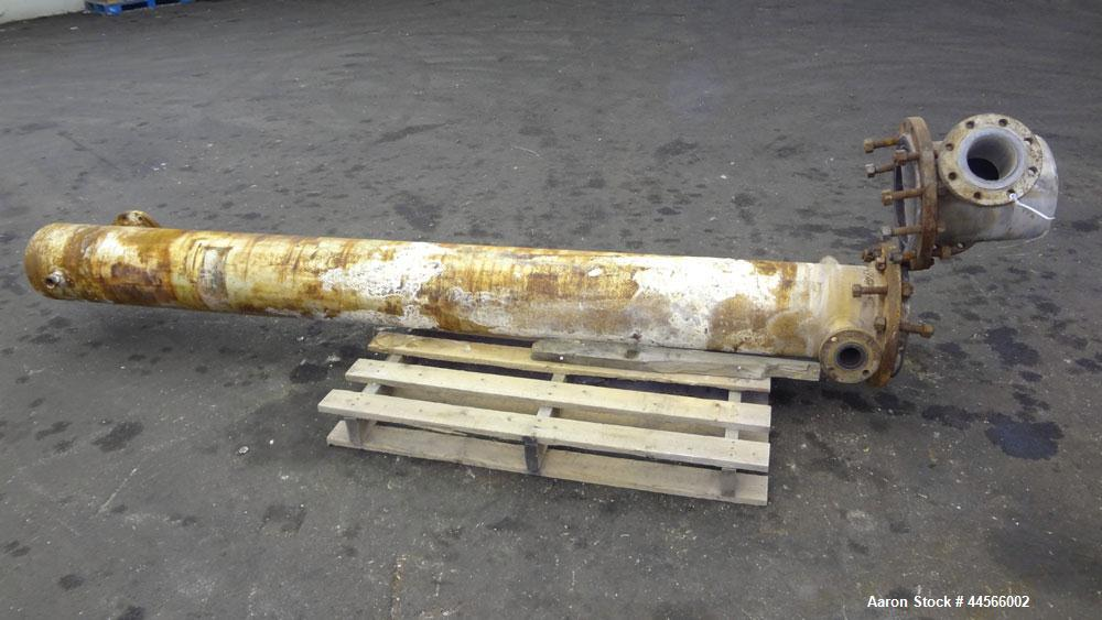 Used- U Tube Heat Exchanger, 116 Square Feet
