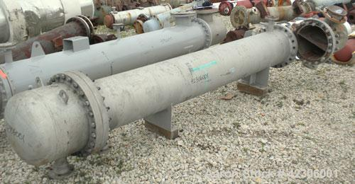 Used- Kemco/Krueger Engineering U Tube Shell and Tube Heat Exchanger, 300 square feet, type FH, size 15 x 20, horizontal. Ca...