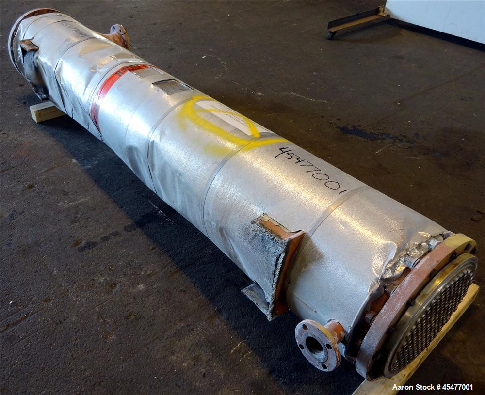Used- Perry Products Single Pass Shell and Tube Heat Exchanger, Model FTSX-16-40