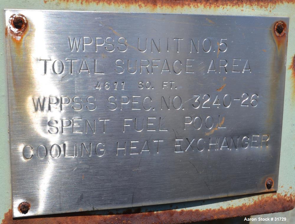Unused- P.X. Engineering U Tube Heat Exchanger