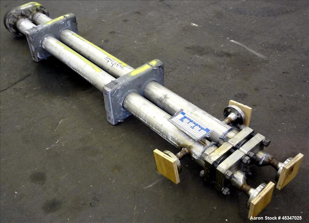 Used-R.W. Holland Inc Heat Exchanger, Tempered Hot Oil, Model 60-EX-63600
