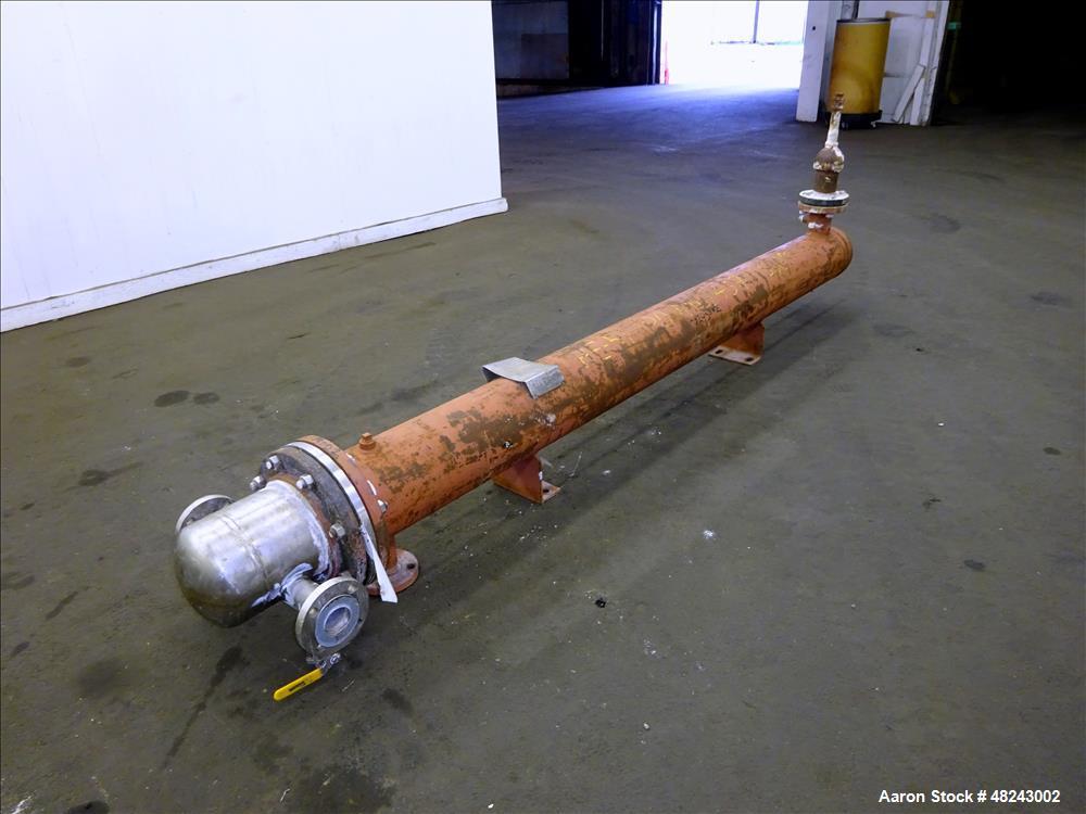 Used- Rubicon Industries U Tube Shell & Tube Heat Exchanger, 62 Square Feet, Mod