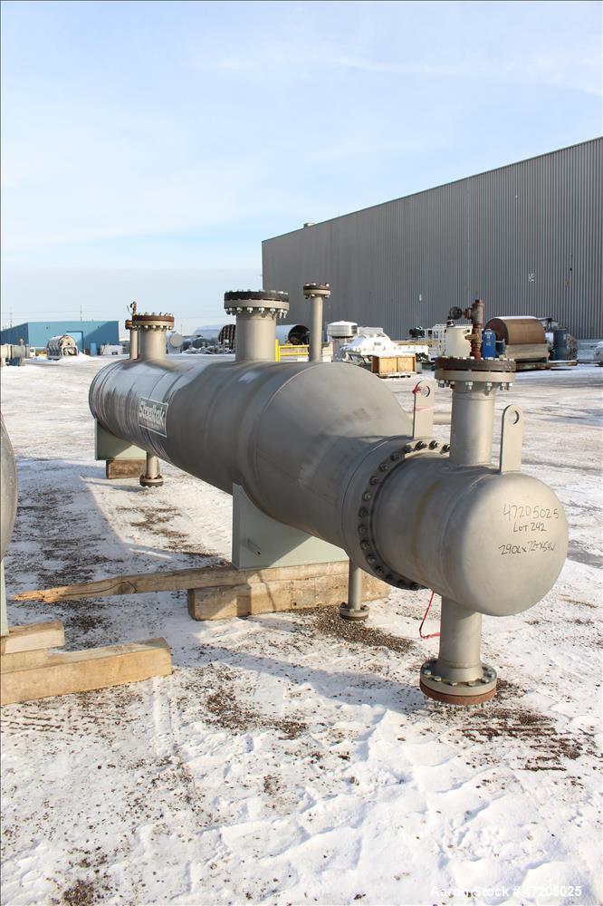 "Unused- Steeltek ""U"" Tube Heat Exchanger, Approximate 1,355 Square Feet, Type BKU, Size 21/36-240, Horizontal. 304L Stainles..."