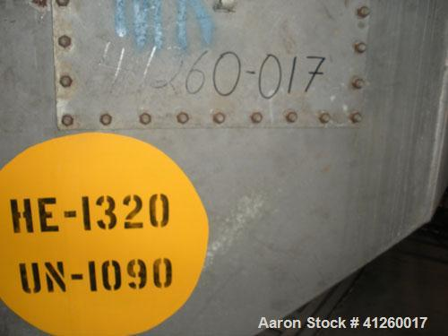 Used-Thermotech Steam Heater. Tubes rated 60 psi @ 200 deg F.