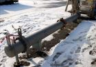 Unused- Steeltek Single Pass Shell & Tube Heat Exchanger, 166 Square Feet, Type BEM, Size 10-168, Horizontal. 304L Stainless...
