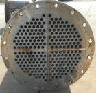 Used- Doyle and Roth 4 Pass Shell and Tube Heat Exchanger, 478 square feet, vertical. Carbon steel shell rated 100 psi at –2...