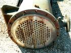 USED: Halberg six pass shell and tube heat exchanger, 157 square feet, horizontal. Carbon steel shell rated 6 bar (87 psi) a...