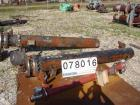 USED: KAM thermal 6 pass U-tube heat exchanger, 162 sq ft, horizontal.(92) 3/4