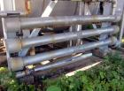 Used- Enerquip Shell & Tube Heat Exchanger, Approximately 39.9 Square Feet, Stainless Steel, Horizontal. Type BEM-3-120. 304...