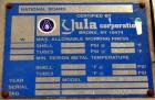 Used- Yula Corporation U Tube Heat Exchanger, approximately 71 square feet, horizontal, model WCV-6C-90AS.304L Stainless ste...