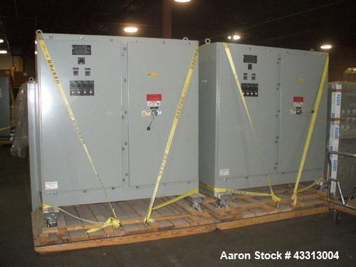 Unused-Watlow Electric Heat Exchanger, 1000 kW, 480 volt, 3/60, 1205 amps, 5 kva rms symmetrical.