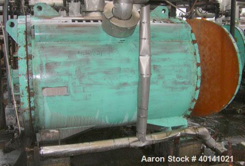 Used: American Heat Reclaim spiral heat exchanger, 1,690 square feet,  type 1-H, carbon steel heads. Internal carbon steel, ...