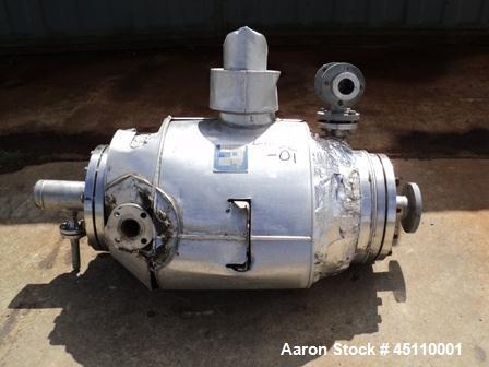 Used- Stainless Steel Alfa Laval Spiral Heat Exchanger, Model 284