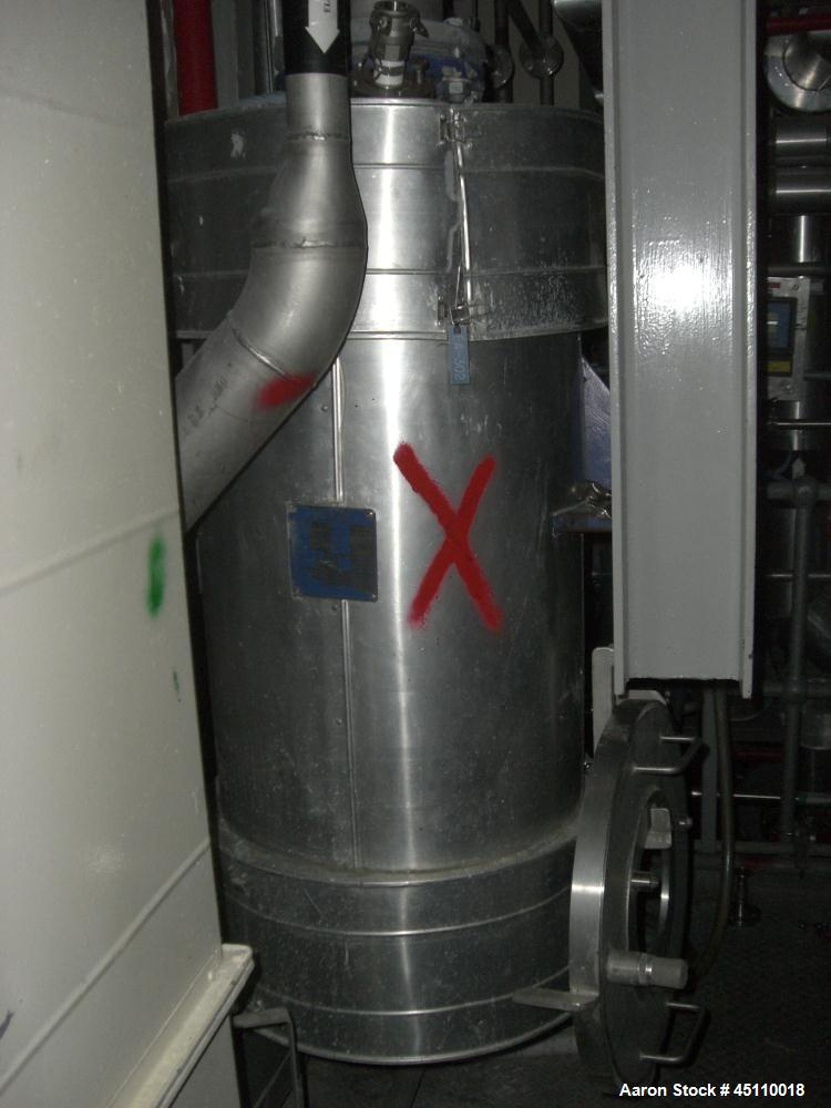 Used- Stainless Steel Alfa Laval Spiral Heat Exchanger