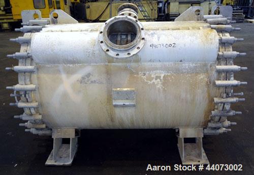 Used- Alfa-Laval Horizontal Spiral Heat Exchanger, Type 1-H