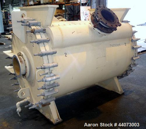 Used- Alfa-Laval Horizontal Spiral Heat Exchanger, Type 1-H