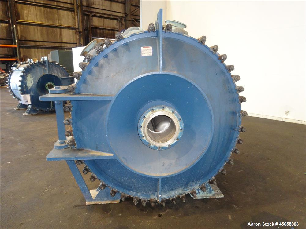 Used- 2,800 Square Feet Alfa Laval Spiral Heat Exchanger