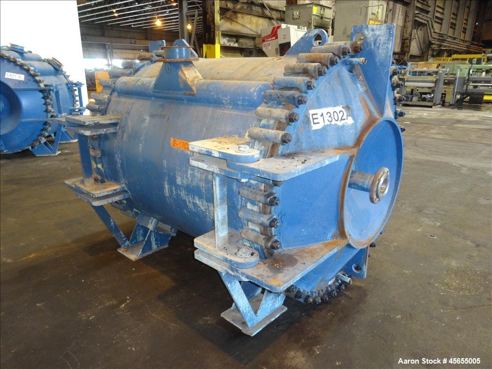 Used- 2,385 Square Feet Alfa Laval Spiral Heat Exchanger