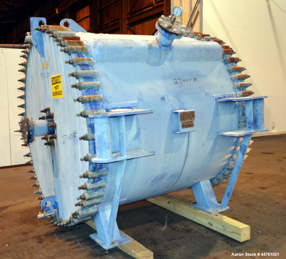 Used- Alfa-Laval Horizontal Spiral Heat Exchanger, Type 1-H-L-1C
