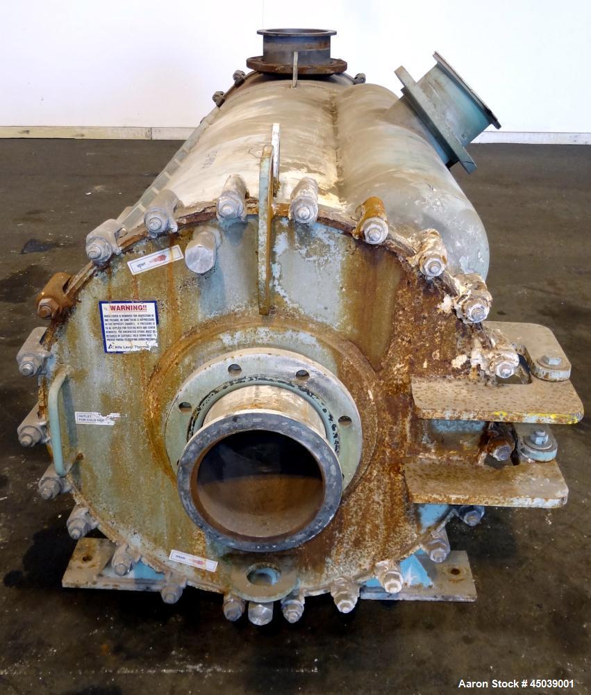 Used- Alfa Laval Thermal Horizontal Spiral Heat Exchanger