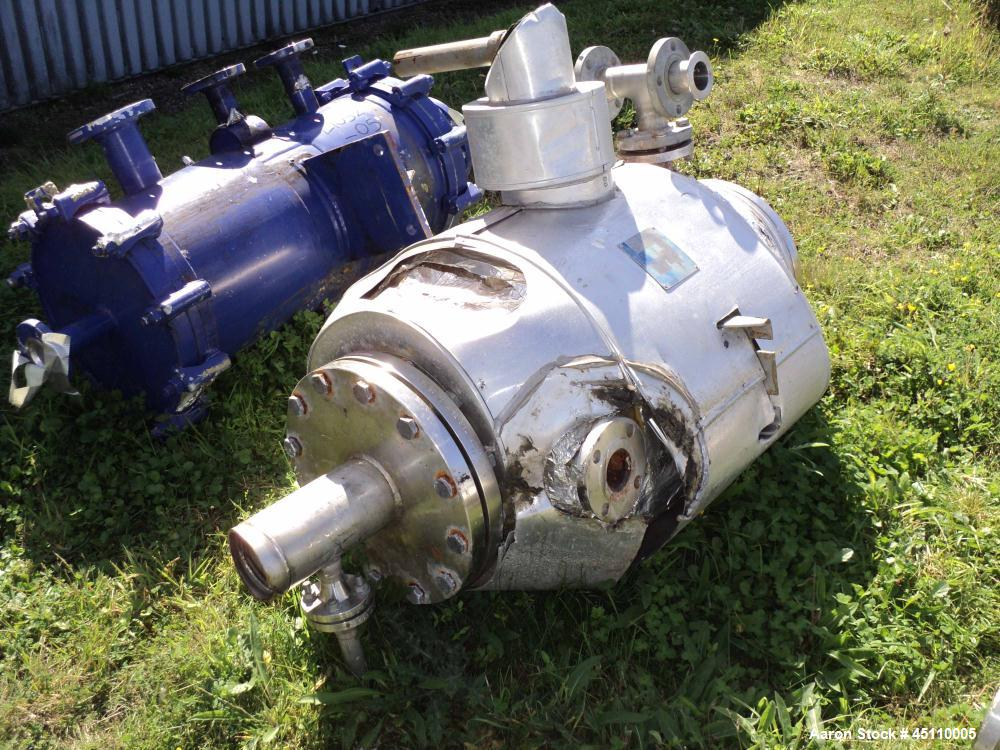 Used: Stainless Steel Alfa Laval Spiral Heat Exchanger, Model 284