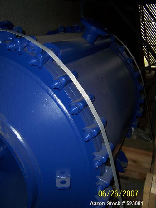 NEW: Alfa Laval heat exchanger, type 1H. (Suitable for liquid/liquid application) 1,030 square feet, 316 stainless steel con...
