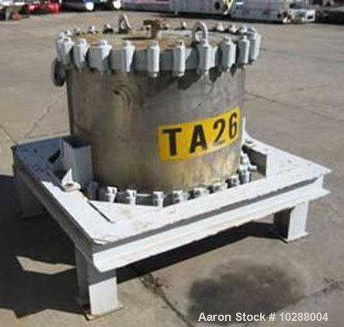 Used-Alfa Laval (Reclaiming Corp) 530 square foot spiral heat exchanger. 304 stainless steel contact parts. Type 1-V, date 1...