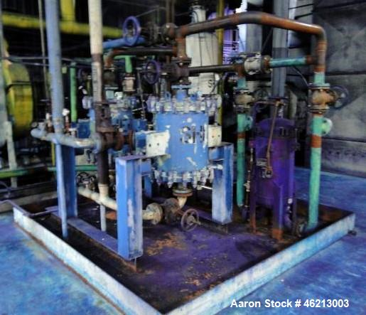Used-Alfa Laval Filter System on skid.  Lot 148