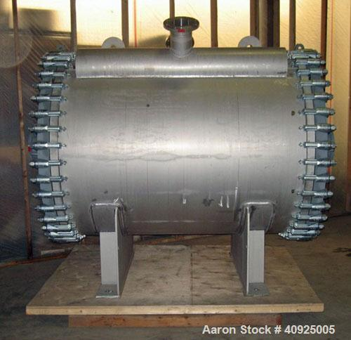 Unused-New (Never Installed) HES/VAAHTO S.H.E. 272 Square Meter (2928 Square Foot) Horizontal Spiral Heat Exchanger. Max all...